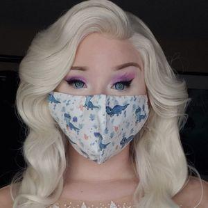 Frozen II fire spirit face mask